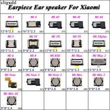 cltgxdd 2pcs Earpiece Ear speaker For Xiaomi Mi 3 4  4C 4I 4S 5 5C 5X 5S 5Splus 6 8 8SE Mi Note 2 3 Mix 2 2S Mi3 Mi4 Mi5 Mi6 Mi8 наушники для мобильных телефонов xiaomi 2 2 ii mi3 mi4 xiaomi hongmi xiaomi piston earphone 2