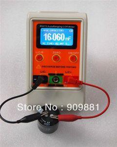 AutoRange LCR мостовой измеритель емкости цифровая емкость индуктивность USB ПК программа большой диапазон 100H 100mF 20MR перезаряжаемый