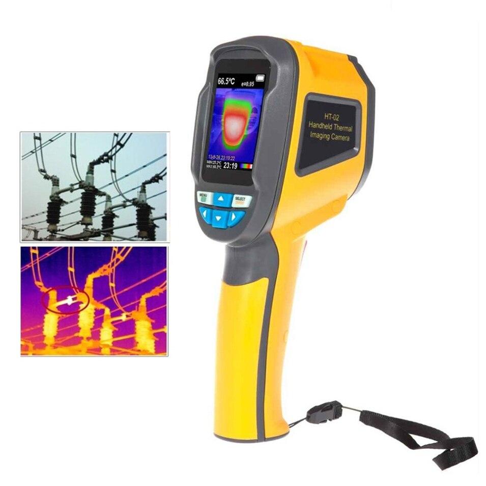 HT-02D Handheld Thermal Imaging Camera Infrared Thermometer IR Thermal Imager thermometre infrarouge termometro infravermelhoHT-02D Handheld Thermal Imaging Camera Infrared Thermometer IR Thermal Imager thermometre infrarouge termometro infravermelho