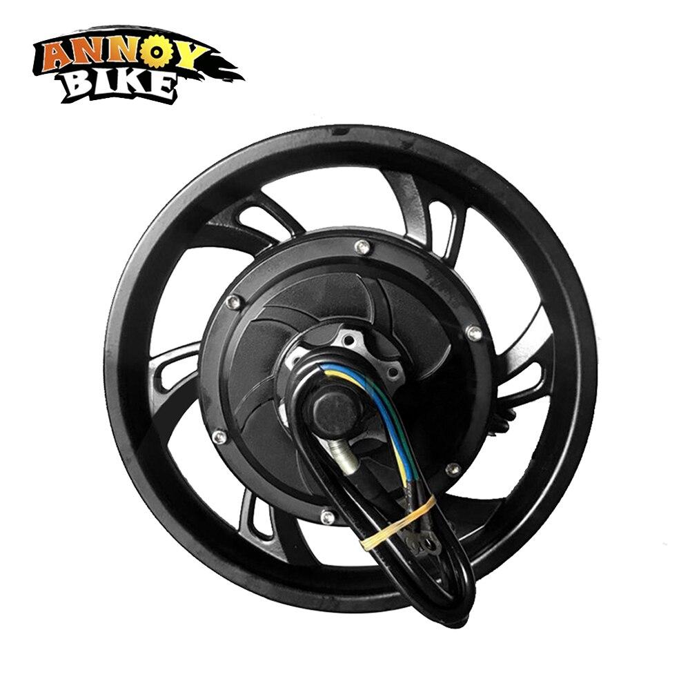 12 Inch Hub Motor HM Motor 52V60V72V120V 50-120km/h Open Size 130MM Brushless High Speed Mini Motor