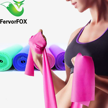 Fitness Exercise Resistance Bands Rubber Yoga Elastic Band 1