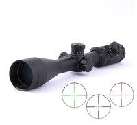 SPINA оптика 4 16X50 Riflescope Ren и зеленый illination Reticle волокно оптический вид Прицел дальномер Охота