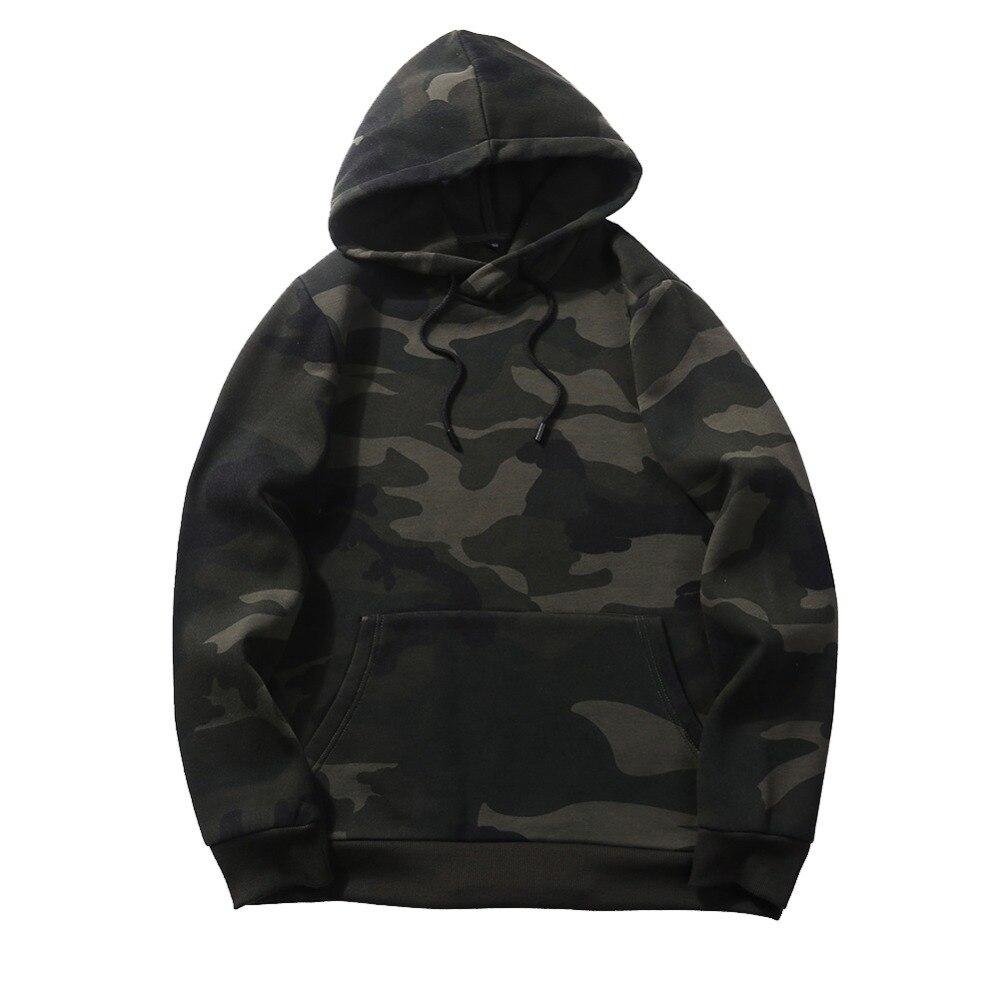 FGKKS Camouflage Men Hoodies New Sweatshirt Male Hoody Hip Hop Autumn Winter Fleece Military Men's Hoodie