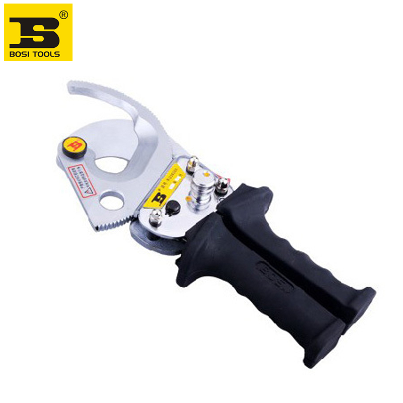 Free shipping BOSI 40mm/300mm2 Ratcheting Cable Cutter цена и фото