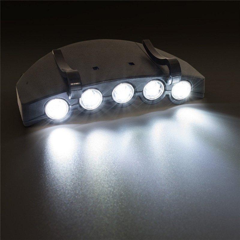 5 Led Hunting Hat Clip Light 5