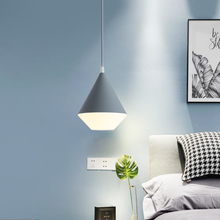 Modern nordic minimalist pendant light creative art deco LED hanging light for living room bedroom bedside lamp indoor light e27 все цены