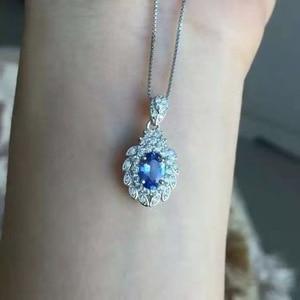 Image 2 - Natürliche tansanit halskette, blau edelstein, 925 sterling silber, farbige edelstein shop, edelsteine abgebaut in natürliche berge