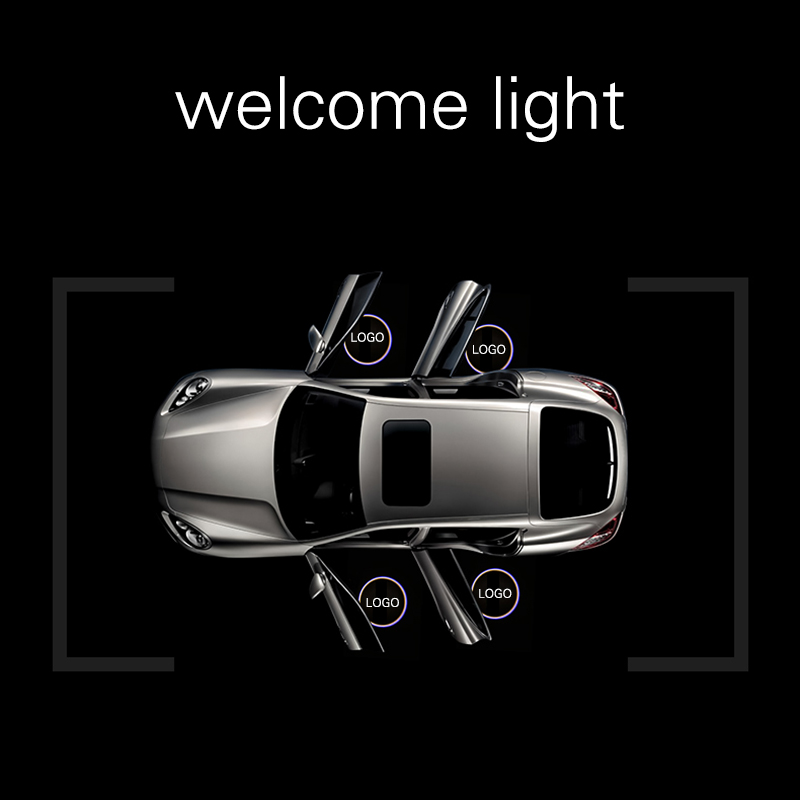 Cunymagos Customized Car Laser Light Car Logo LED Projector Welcome Light Custom-made Wireless LED Car Door LOGO Projector Light (5)