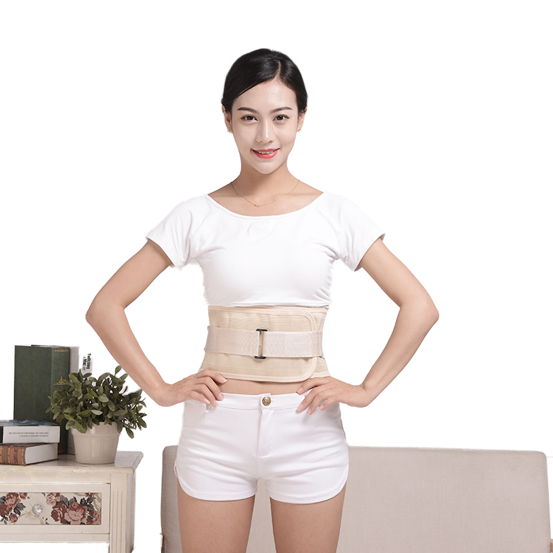 Adjustable brace Lumbar Support Lower Back Belt Brace Pain Relief Band Waist Polymer support plate belt back posture
