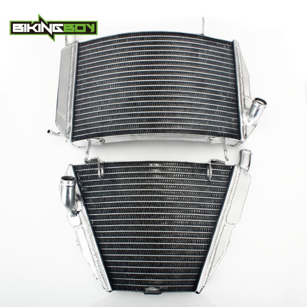 BIKINGBOY-radiateur de refroidissement supérieur/inférieur | Pour Ducati Streetfighter 1098 S 2012 2013, moteur 1098, remplacement