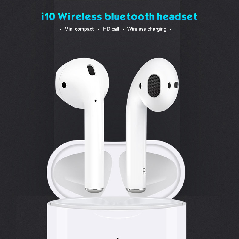Nouveau i10 tws 1:1 sans fil Bluetooth 5.0 3D basse tws i10 pas i13 i12 i11 i88 tws pour iPhone Android pour Huawei P30 pour Samsung A50