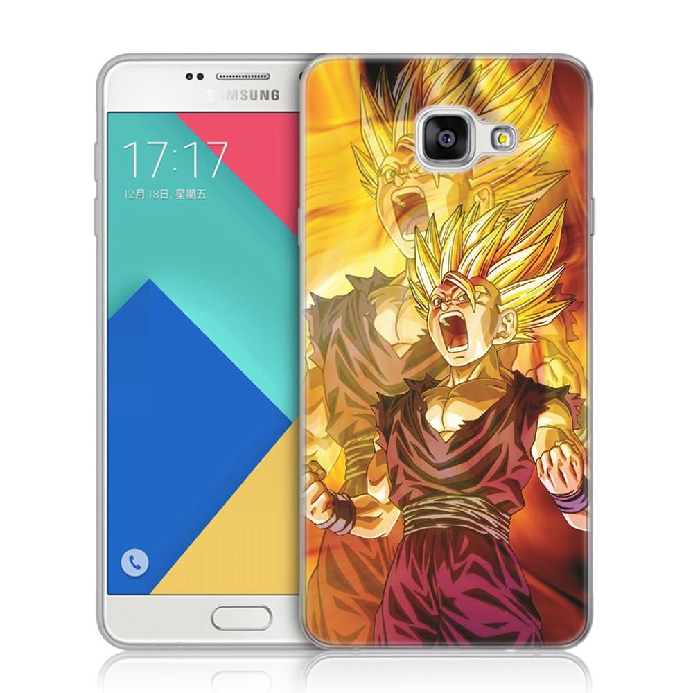 d50dc908826 Kopen Goedkoop Dragon Ball Z Super DBZ Goku Silicon Cover Voor Coque  Samsung Galaxy A3 A5 A7 2016 2017 A520 A6 A8 plus A7 2018 Soft TPU Case  Online.