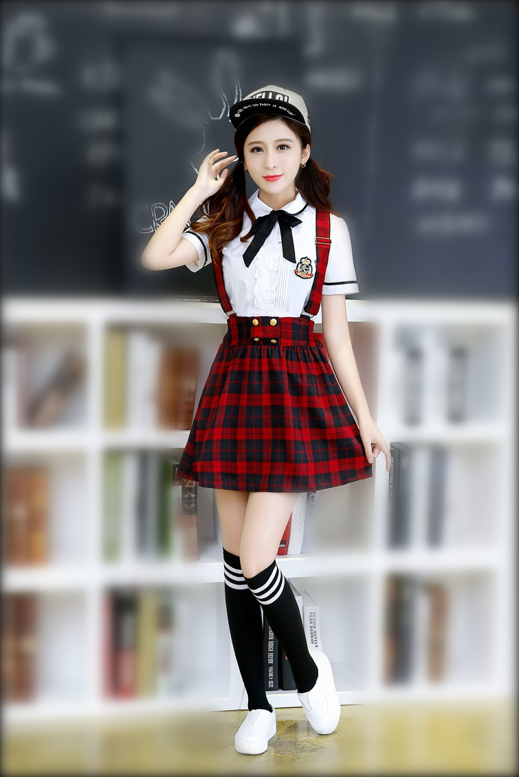cebb666a8c Korean School Uniform Girls Jk Navy Sailor Suit For Women Japanese ...