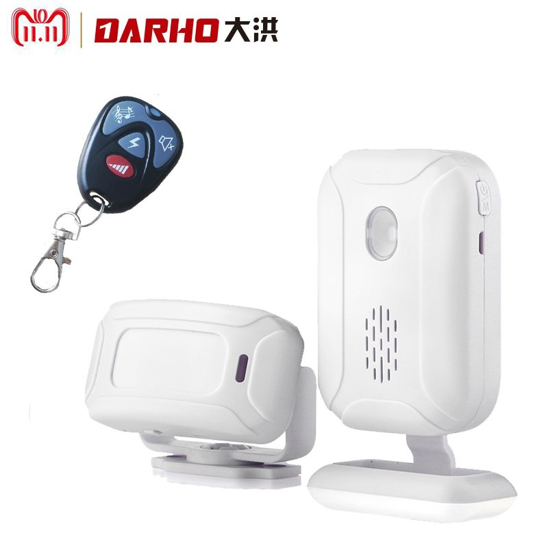 Darho 36 Ringtones Shop Store Home Security Welcome Chime Wireless Infrared IR Motion Sensor Door bell Alarm Entry Doorbell