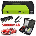 50800mAh 12V Portable Car Jump Starter Mini Car Battery Engine Starter Booster Emergency Power Bank Battery Source Pack Charger