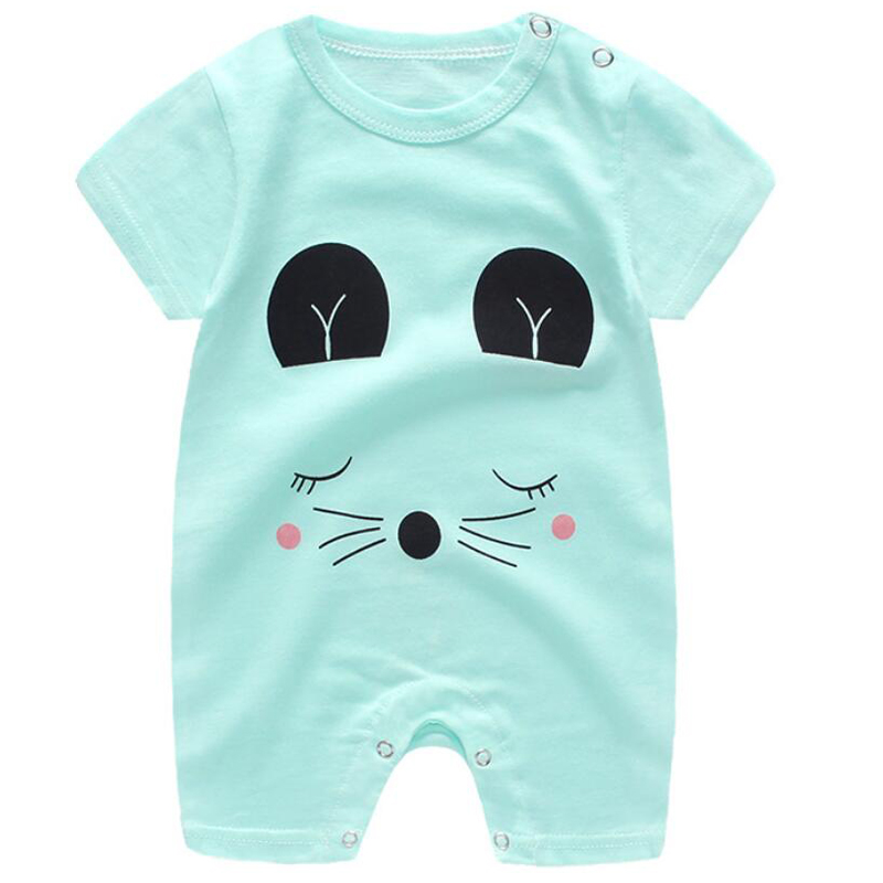 jumpsuit baby girl clothes summer baby   rompers   newborn baby girl   romper   short sleeve babyboy new born baby clothes clothing 1T