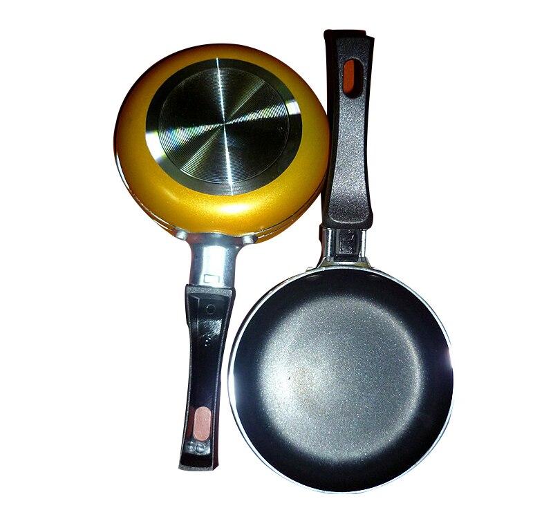 Thickening Medical Stone Non-stick Frying Pan 12 Cm Multi-purpose Pancake Steak Pan No Fumes Use For Gas Induction Cooker