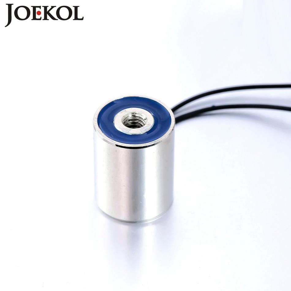 New arrival JK20/25 DC 6V 12V 24V Solenoid Sucker Holding Electric Magnet Lifting 3KG Electromagnet Non-standard custom dc 24v 1 2a 18mm 0 3kg pull electric solenoid electromagnet coil
