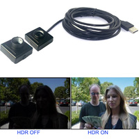 720P Digital WDR Wide Dynamic Range Small USB Camera For ATM Security Surveillance