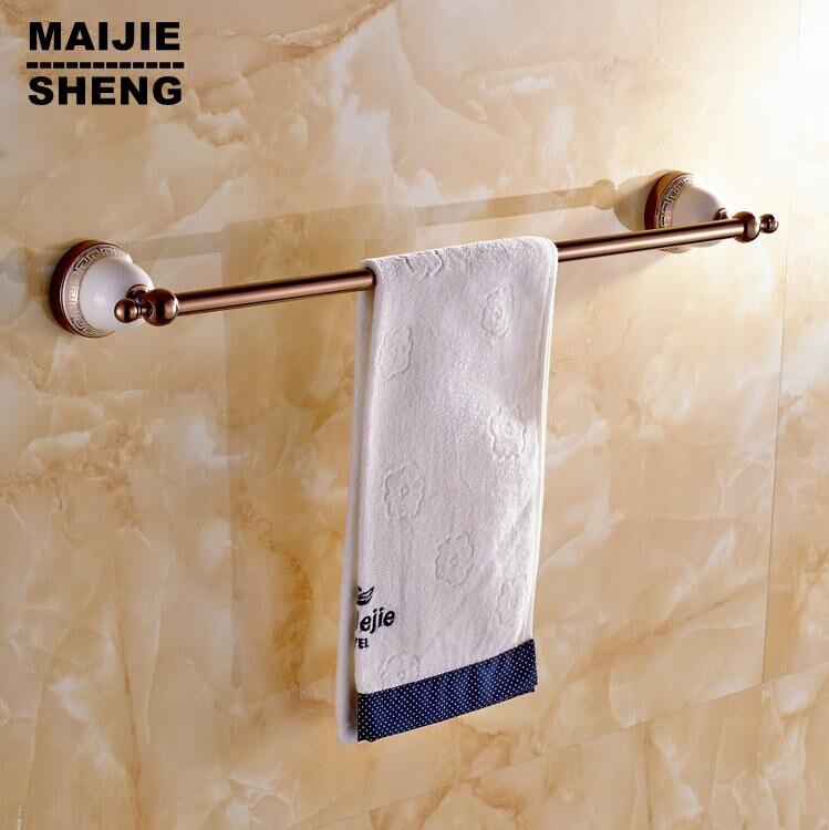 whole brass gold single towel bartowel holder towel rack sol