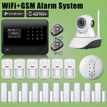 Chuangkesafe G90B WIFI GSM Wireless/Wired Home Intruso de Alarma Antirrobo + 10 Sensor de Puerta