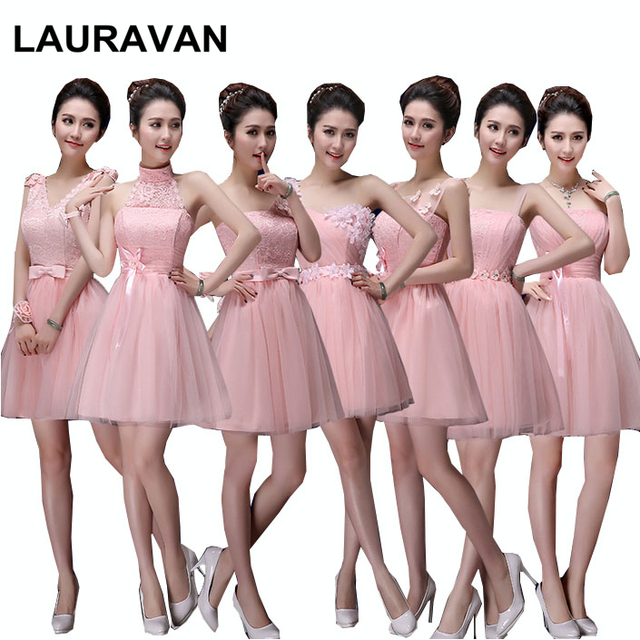 e5c81cc01cfe girls light pink bridesmaid dress bridesmaids pageant dresses short for  adult ball gowns for special occasions free shipping