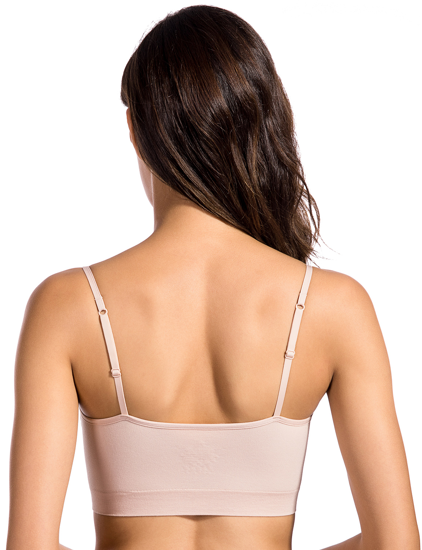 916f865376245 Women s Comfort Plus Size Smooth Back Full Figure Leisure Sleep Day Bra-in  Bras from Underwear   Sleepwears on Aliexpress.com