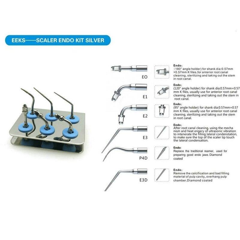 Kit de pointe dentaire Endo adapté à la série EMS/WOODPEDCKER-UDS détartreur à ultrasons SYBRON-ENDO