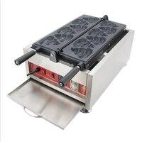 상업 와플 메이커 디지털 디스플레이 와플 베이킹 머신 스테인레스 스틸 와플 장비 NP-234