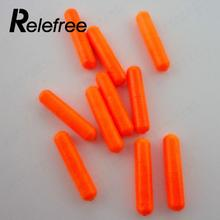 Relefree 100Pcs Outdoor Fishing Float Stops For Bobber Line Grips Floater Carp Tackle Gear Accessories Tool S/M/L Color Random