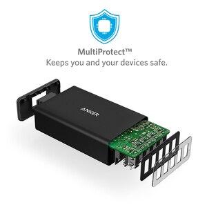 Image 2 - Anker 40 واط 5 Port USB الجدار شاحن ، PowerPort 5 آيفون ، باد برو/الهواء ، غالاكسي S9/S8/حافة/زائد ، ملاحظة 8/7 ، نيكزس HTC LG وأكثر من ذلك