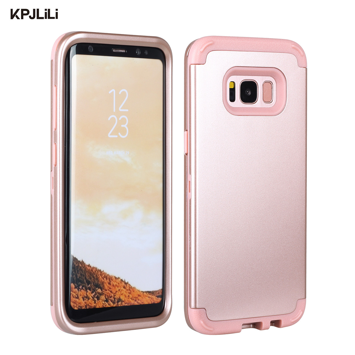 wholesale dealer 17d6a 40a97 Durable Original Phone Case for Samsung Galaxy S8 S8+ Plus Luxury Soft TPU  Shockproof Armor Hard Case Cover for Samsung S8 Plus-in Fitted Cases from  ...