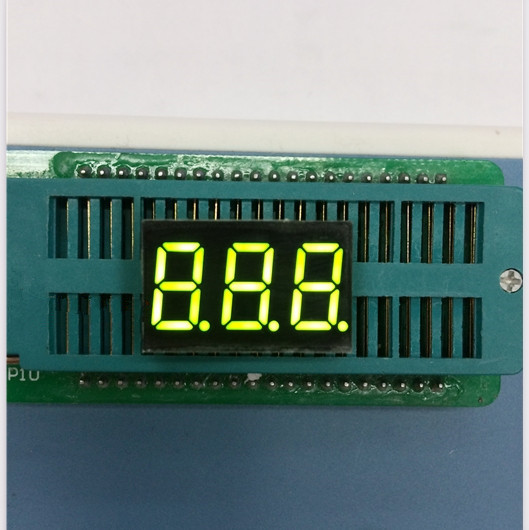 Free Ship 100pc Common anode/Common cathode 0.36 inch digital tube 3 bit digital tube 0.36inches best  Green digital tube