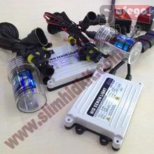 1 SET  black & white Free Shipping Xenon HID Kit Car Headlight hid kit 12V  55W H7 Xenon 55W HID KIT AC12V