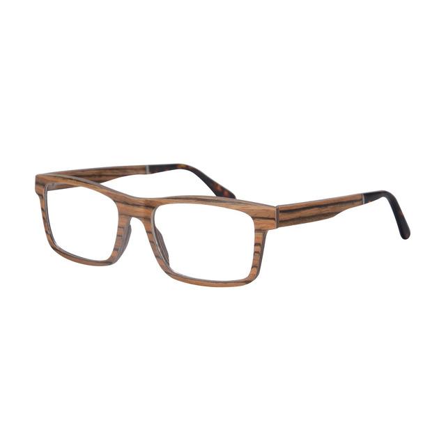 Natureza artesanal de madeira quadrado de madeira frame de espetáculos alta qualidade frame ótico óculos de grau óculos de miopia SH73009