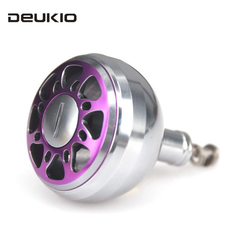DEUKIO Fishing Reel Handle Refit Grip Pill Full Metal Wheel S/D/A Brand Fish Wheel Handle Precision Machining CNC Process Pesca