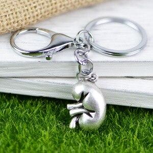 Брелок для ключей Tkuamigo, в стиле панк, с анатомической почкой, для биологии человека, подарок для почечных нефрологов, A211, 18*25 мм