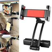 Aluminum Tablet Car Holder For iPad Air Mini 2 3 4 Pro 12.9 Back Seat Headrest 5-13 Inch Tablet Phone Stand for Iphone X 8 floveme tablet headrest bracket car back holder mount stand holder capa for ipad mini 2 3 4 air pro xiaomi chuwi lenovo pad case