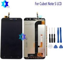 Купить онлайн 5,5 «для Cubot Note S ЖК-дисплей Дисплей и Сенсорный экран Экран Digitizer Ассамблеи Инструменты + клей