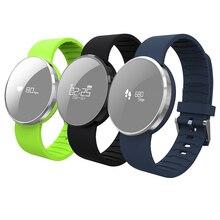 Гестия UW1 Bluetooth4.0 Smart Браслет зеркало Экран монитор сердечного ритма IP67 Водонепроницаемый браслет напоминание для Android и IOS