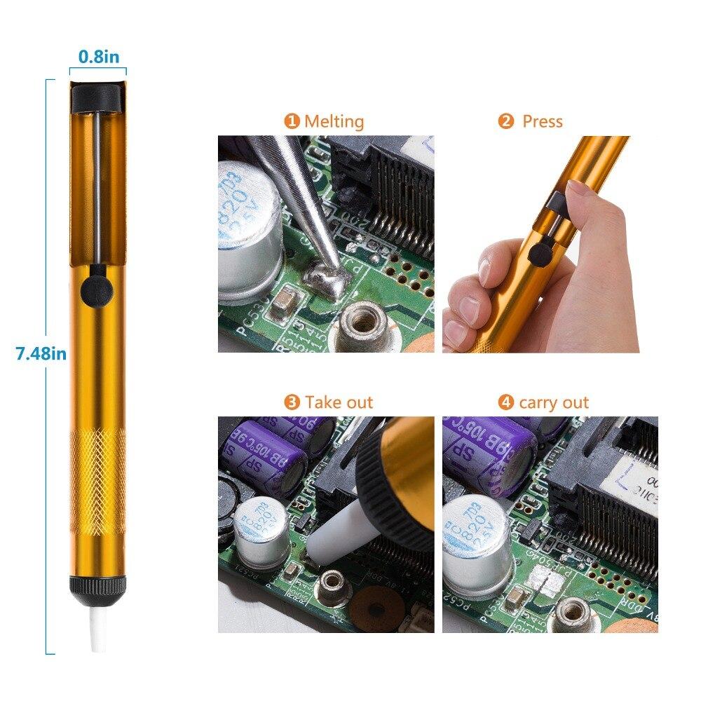 GEYOTAR 220V 60W automaatne saata tina elektriline jootekolbpüstoli - Keevitusseadmed - Foto 6