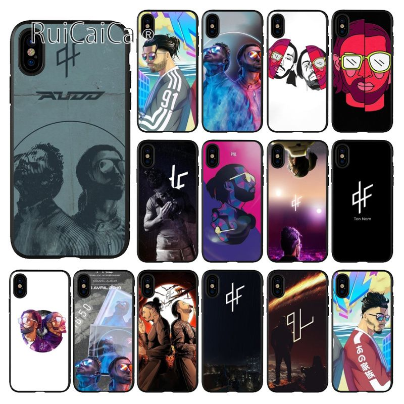 Ruicaica PNL Rapper Custom Photo Soft Silicone Black Phone Case for Apple iPhone 8 7 6 6S Plus X XS MAX 5 5S SE XR Mobile Cases