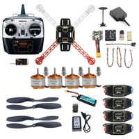 2.4G 8CH 310 330 360 Mini RC quadrirotor ARF RTF démonter bricolage Drone FPV Upgradable avec radio Mini PIX M8N GPS maintien d'altitude
