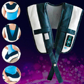 2016 High Performance Electric Tapping Shoulder Massage Belt Back Pain Relieve Machine Free Shipping
