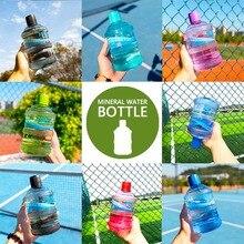 630 мл галлоновая бутылка для воды пластиковая широкая пасть большая емкость BPA бесплатное обучение питьевой моя Бутылка чайник Спортивная бутылка для воды