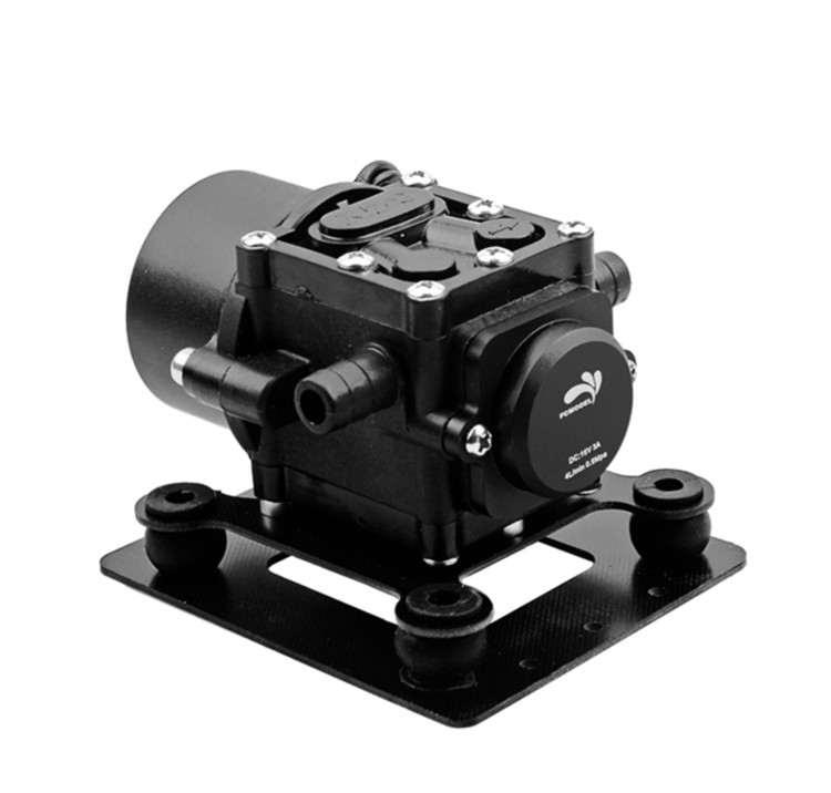 Mini Brushless Water Pump for DIY Agriculture drone spray gimbal 5L 10L 15L x6210 kv320 24n28p agriculture drone brushless motor dustproof and waterproof thick line 1 pcs