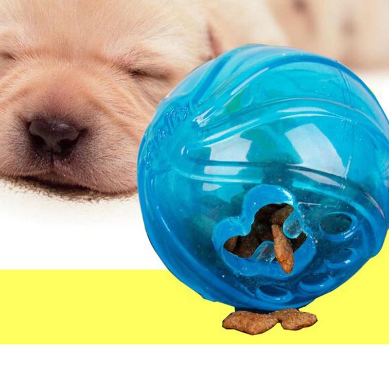 Food Dispensing Rubber Ball Dog