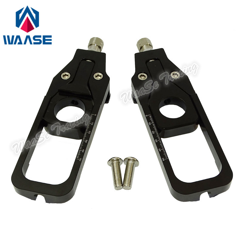 waase waase For BMW S 1000 RR CNC Aluminum Chain Adjusters Tensioners Catena For BMW S1000RR
