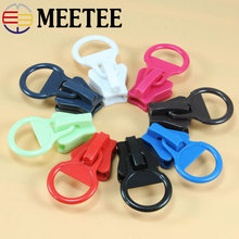 Fermeture Herramienta Para Abrir Candado 5pcs Meetee 20 # Circle Plastic Zipper Pull Head Suitable For Resin ZK1194