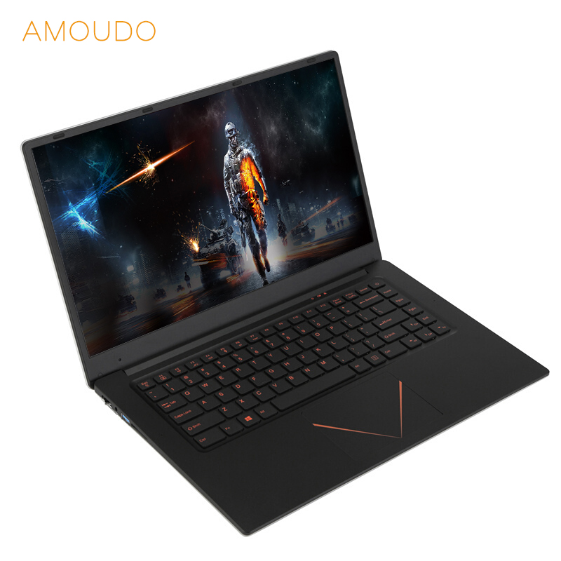 15.6inch Gaming Laptop Nvidia 920M 6GB RAM 128GB/256GB/512GB SSD Quad Core CPU 1920*1080P FHD IPS Screen Computer Notebook